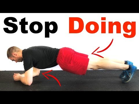 Are you STILL doing planks?