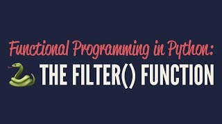 Functional Programming in Python: The