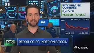 We see bitcoin going up over the long-term: Reddit's Alexis Ohanian