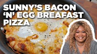 Sunny's Easy Bacon 'n' Egg Breakfast Pizza   Food Network