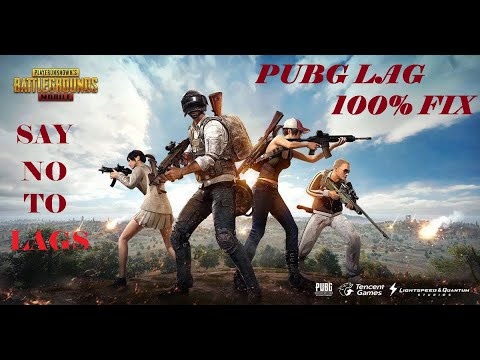 PUBG LAG FIX 100% Working for all PC