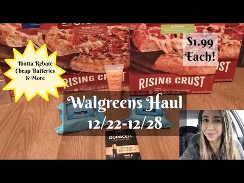WALGREENS 12/22-12/28 Super Cheap Pizza & Other Good Deals This Week! Giveaway Winners Announced!