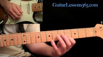 Thunderstruck Guitar Lesson Pt.1 - AC/DC - Intro