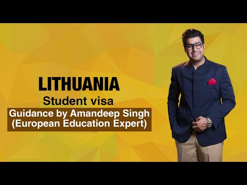 Lithuania Student visa Guidance by Amandeep Singh (European Education Expert)