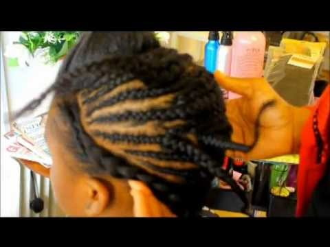 TRACK WEAVES  ON BLACK HAIR - BASIC INTRODUCTION