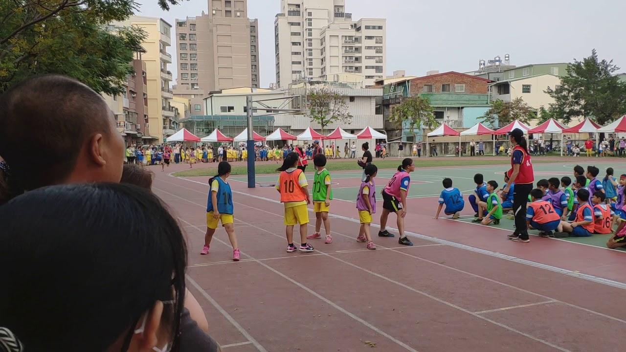 樂群國小107學年運動會五年級大隊接力 - YouTube