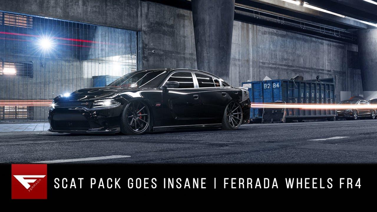 scat pack goes insane dodge charger ferrada wheels fr4. Black Bedroom Furniture Sets. Home Design Ideas