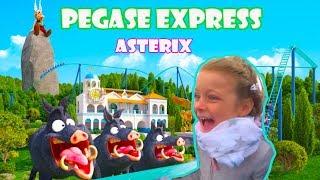 Pegase Express Parc Astérix Paris - nouveauté - Eva Vlog