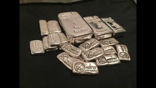 Unboxing Prospector's Gold and Gems Silver Bars!