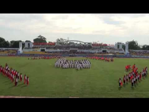 Lễ khai mạc Hội khỏe phù đổng tỉnh Bà Rịa Vũng Tàu lần VIII -- năm 2011 part 1