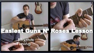 Guitar Lessons - Guns N