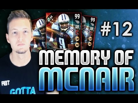 99 OVERALL STEVE MCNAIR! WE