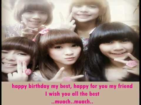 Cherrybelle - Birthday Kiss (Lirik)