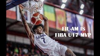 Filipino American Jalen Green is 2018 FIBA U17 Basketball World Cup MVP