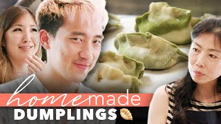 Pro Chef Vs. Mom's Homemade Dumplings • Homemade