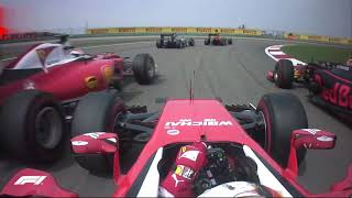 Five Of The Best Onboards In Shanghai | Chinese Grand Prix