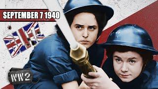 Burn London, Burn it's the Blitz - WW2 - 054 - September 07 1940