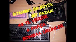 DOLAPDERE BİT PAZARI GEZİNTİ VE ALDIKLARIM SAAT 2.45
