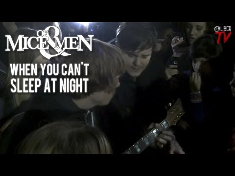 "Of Mice & Men (Aaron Pauley & Alan Ashby) - ""When You Can't Sleep At Night"" (Tilly's: Vacaville, CA)"