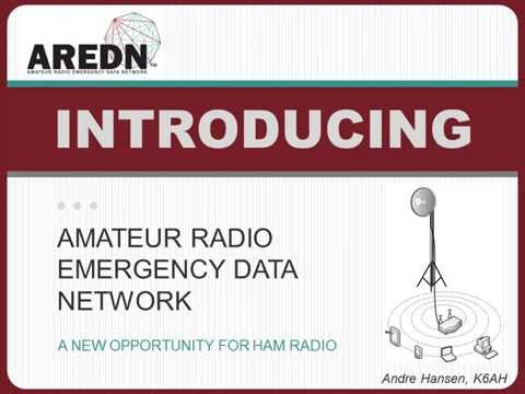 Introducing AREDN, the Amateur Radio Emergency Data Network (aredn.org)