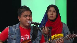 MeleTOP - Persembahan LIVE Caliph Buskers