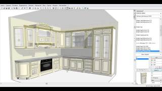 KITCHENDRAW 6.5. Как построить кухню  NIKE AVORIO