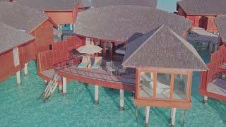 Sunrise Over Water Suite – Anantara Dhigu Resort Maldives