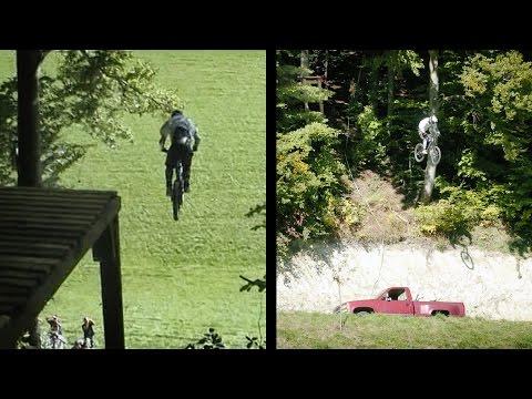 David Kretz - 2005 -  Learn To Fly / 16m drop - 22.5m distance