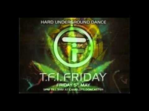DJ HIXXY - TFI FRIDAY 2nd Birthday