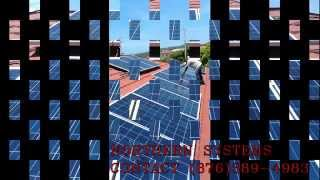 Jamaican solar system  NORTHERN SYSTEMS  6KW GRID INTERACTIVE SOLAR SYSTEM#4