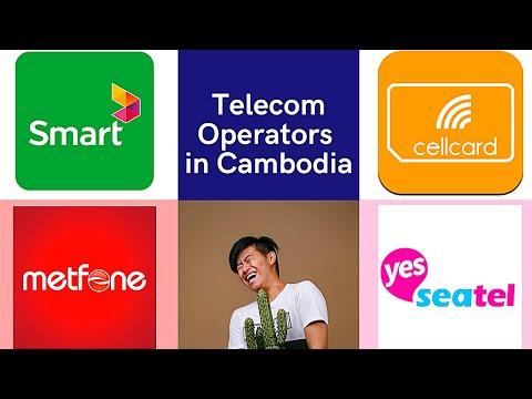 Telecom Operators in Cambodia | Cambodia Telcos 2020