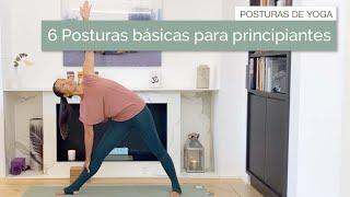 6 Posturas de Yoga para Principiantes con Eko