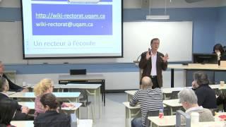Vers le Plan stratégique 2014-2019: échanges avec la Faculté des sciences