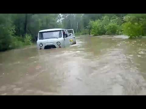Наводнение Черемховский район июнь 2019