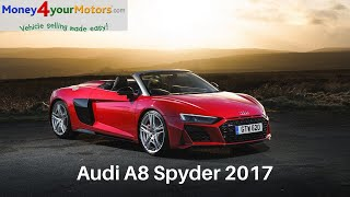 Audi R8 Spyder 2017 Review
