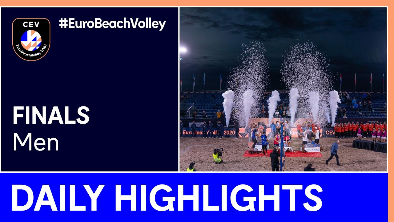 Men Beach Volleyball Final Day Highlights - #EuroBeachVolley 2020