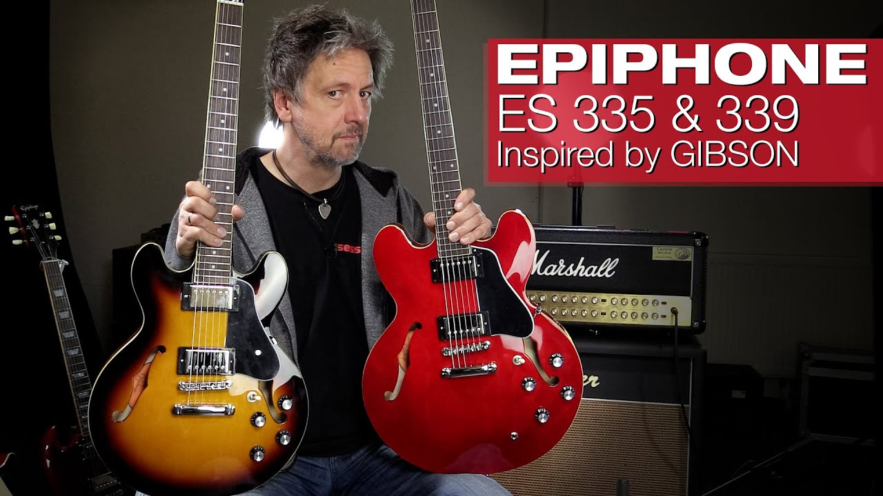 EPIPHONE Inspired by Gibson ES-Serie 2020