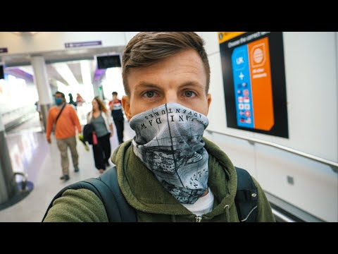 Flying home during the corona virus pandemic