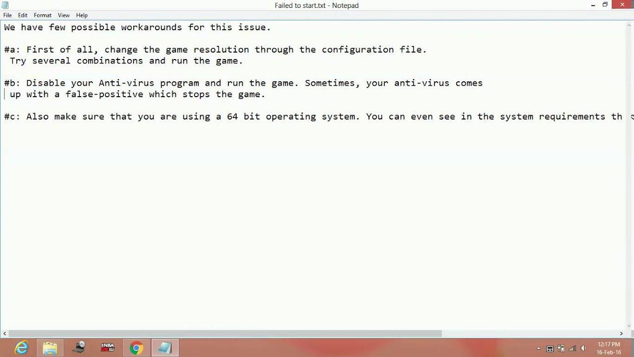 Street Fighter V - Failed To Launch/Start Error [FIXED]