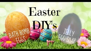 Easter DIY's | Egg Bath Bombs & Egg Jelly Soap | Nikki Stixx