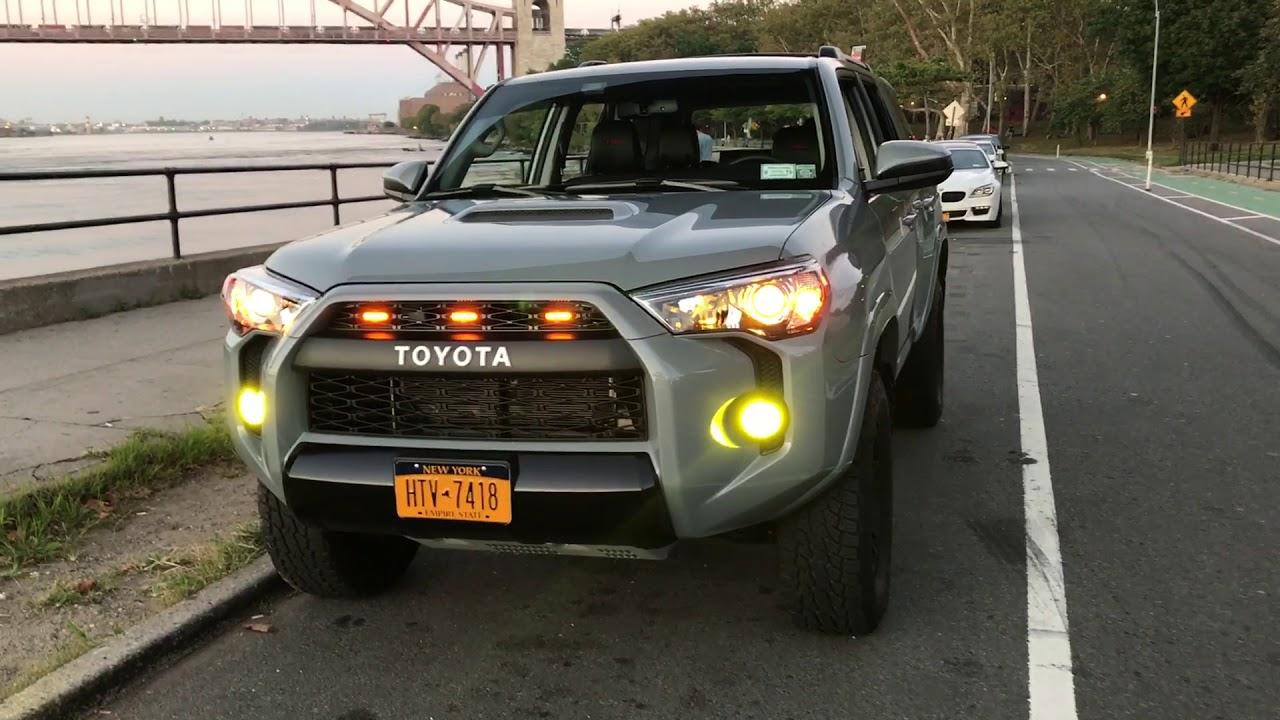 Toyota 4runner Trd Pro Led Foglights Youtube