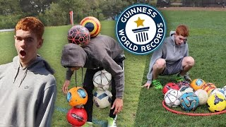 ATTEMPTING TO BREAK IMPOSSIBLE FOOTBALL/ SOCCER WORLD RECORDS