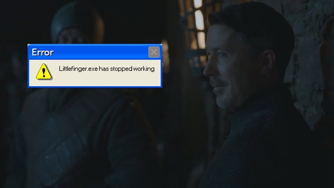 Littlefinger.exe Has Stopped Working (Game Of Thrones YTP)