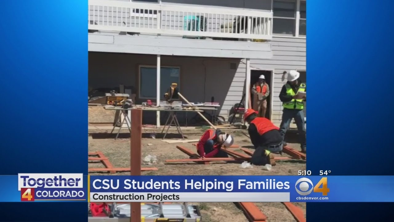 Students Help Build Families Better Homes