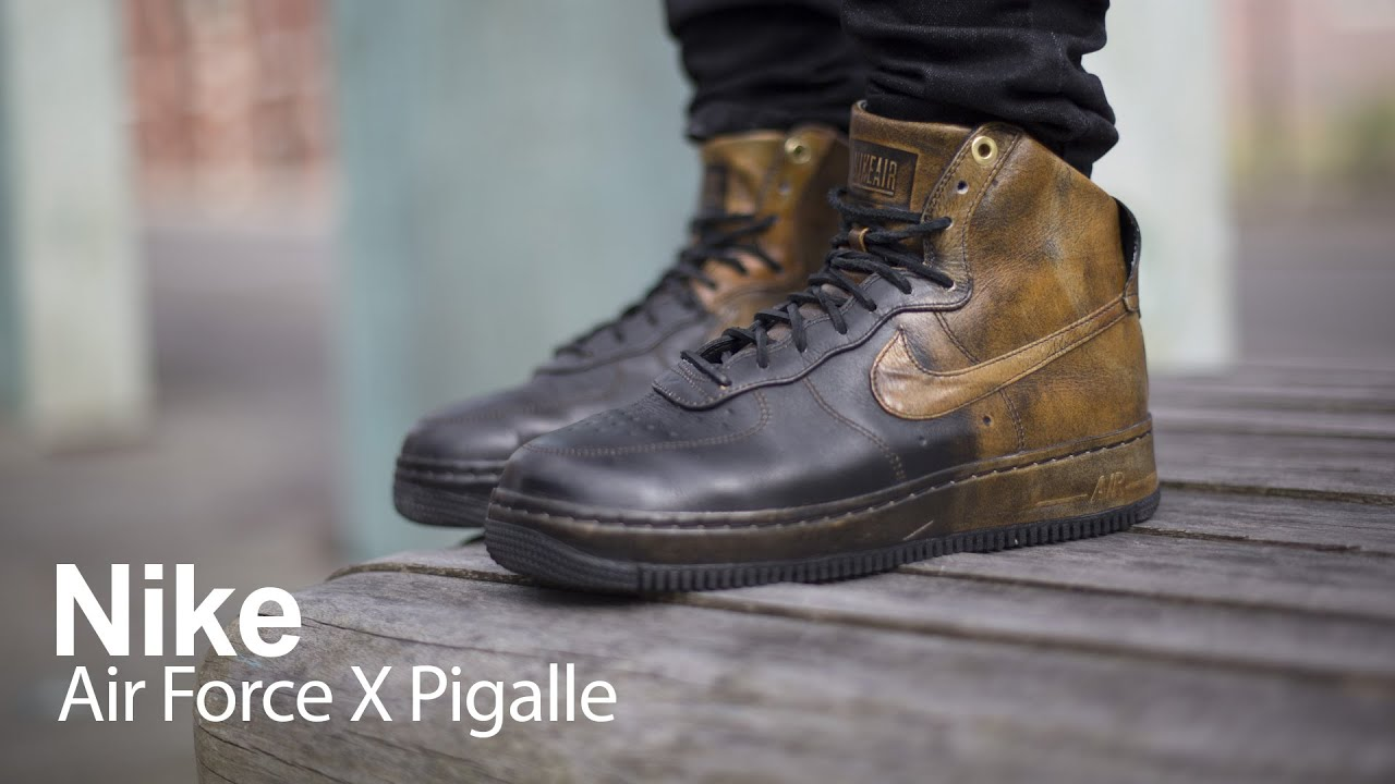 nike x pigalle air force 1 low comfort space