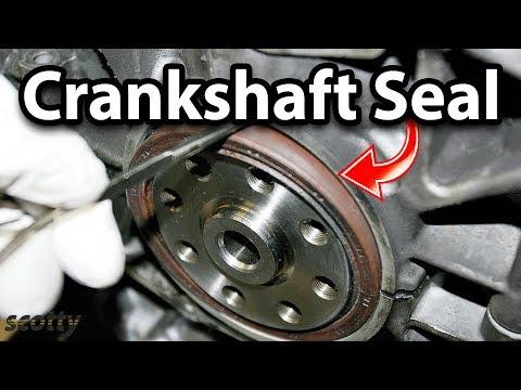 Fixing An Oil Leaking Crankshaft Seal