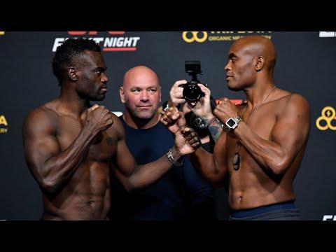 UFC Vegas 12: Weigh-in Faceoffs