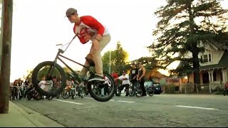 BMX- OSS STREET RIDE IN LA WITH SHAWN MAC