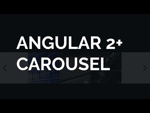 Quickly Create an Angular 2+ Carousel
