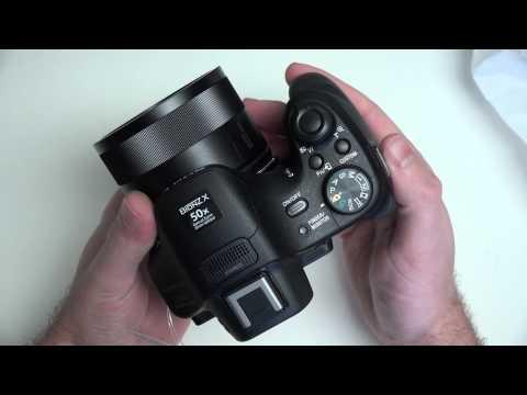 Sony Cyber-shot DSC-HX400V Unboxing in 4K